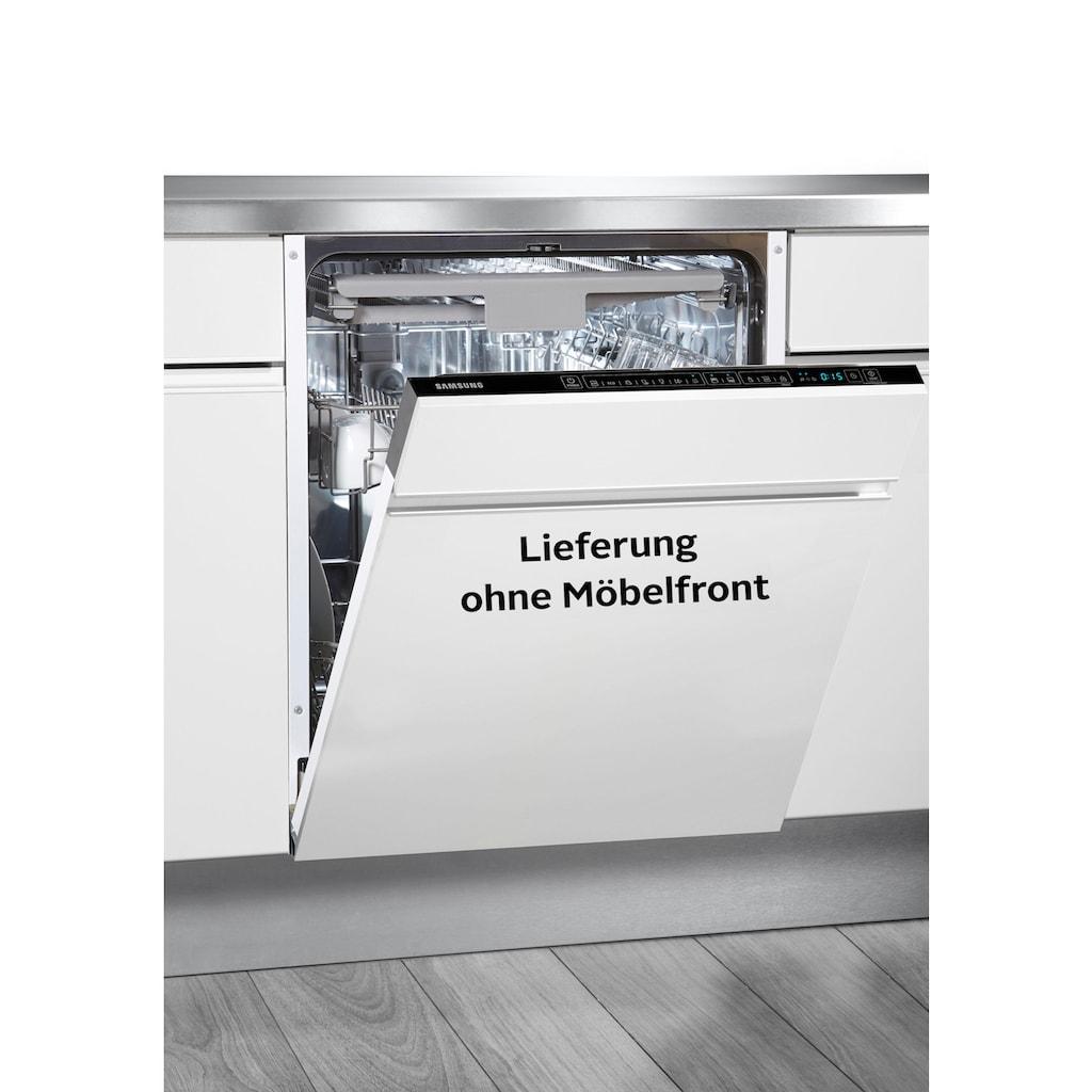 Samsung vollintegrierbarer Geschirrspüler »DW60M6050BB/EG«, DW60M6050BB, 14 Maßgedecke, Besteckschublade