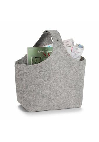 Zeller Present Aufbewahrungskorb, Filz, 32x18x43 kaufen