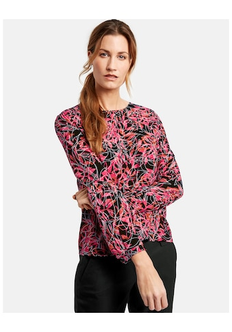 GERRY WEBER Bluse 1/1 Arm »Bluse mit Minimaldessin« kaufen