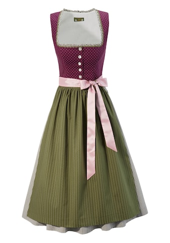 Love Nature Dirndl midi im traditionellem Mustermix kaufen