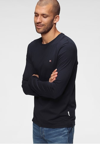 Napapijri Langarmshirt, in klassicher Form kaufen
