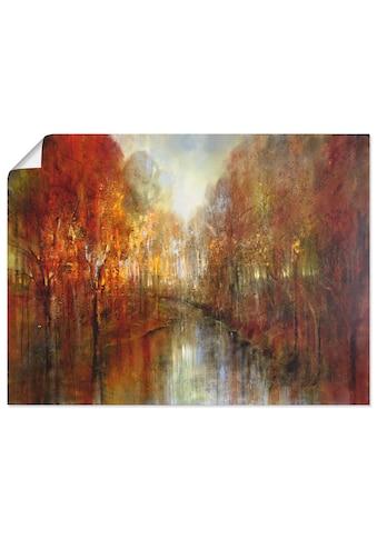 Artland Wandbild »Die Wälder« kaufen