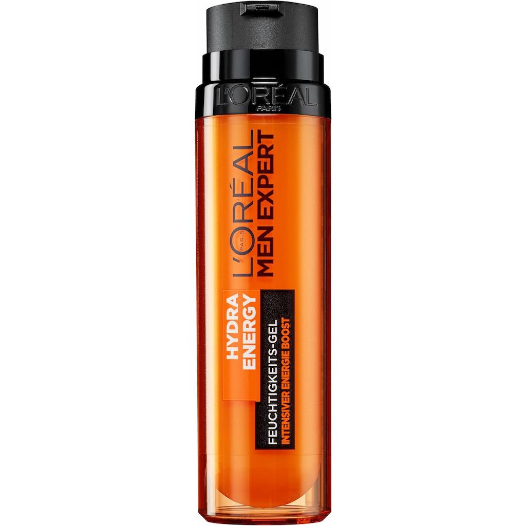 L'ORÉAL PARIS MEN EXPERT Feuchtigkeitsgel »Hydra Energy«, intensiver Energie Boost mit Kreatin; Poren verfeinernd