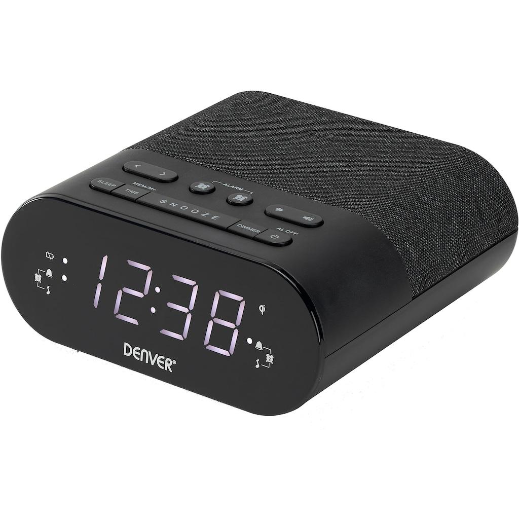 Denver Uhrenradio »CRQ-107 FM«, (FM-Tuner)