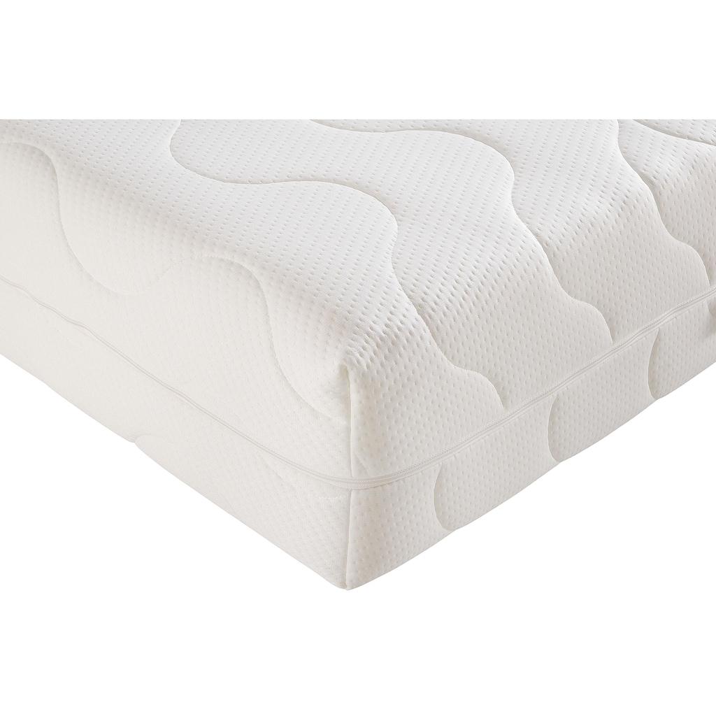 BeCo EXCLUSIV Komfortschaummatratze »6 Sterne KS«, (1 St.), 9 perfekt wirkende Liegezonen, extra hoch
