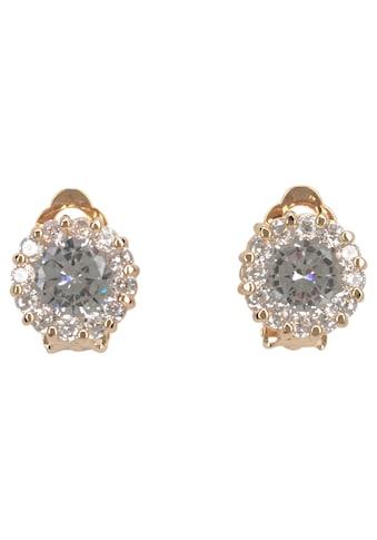 J.Jayz Paar Ohrclips »edel und elegant«, (1 tlg.), mit Glassteinen und Strasssteinen kaufen