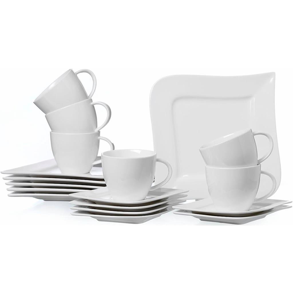 Ritzenhoff & Breker Kaffeeservice »Melodie«, (Set, 18 tlg.), Spülmaschinengeeignet