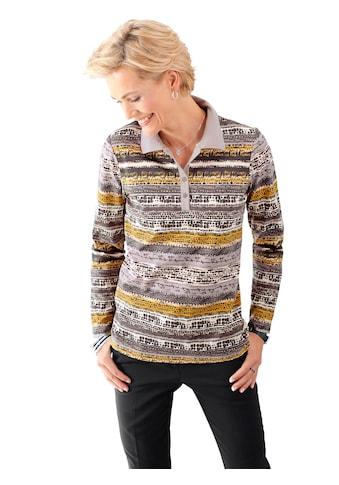 Classic Basics Poloshirt im trendig unregelmäßigem Streifendessin kaufen
