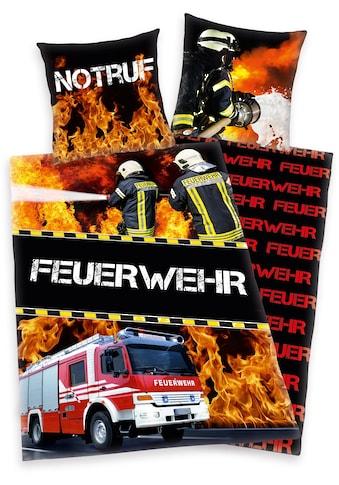 Herding Young Collection Kinderbettwäsche »Feuerwehrmann Sam«, mit Feuerwehrmann Motiv kaufen