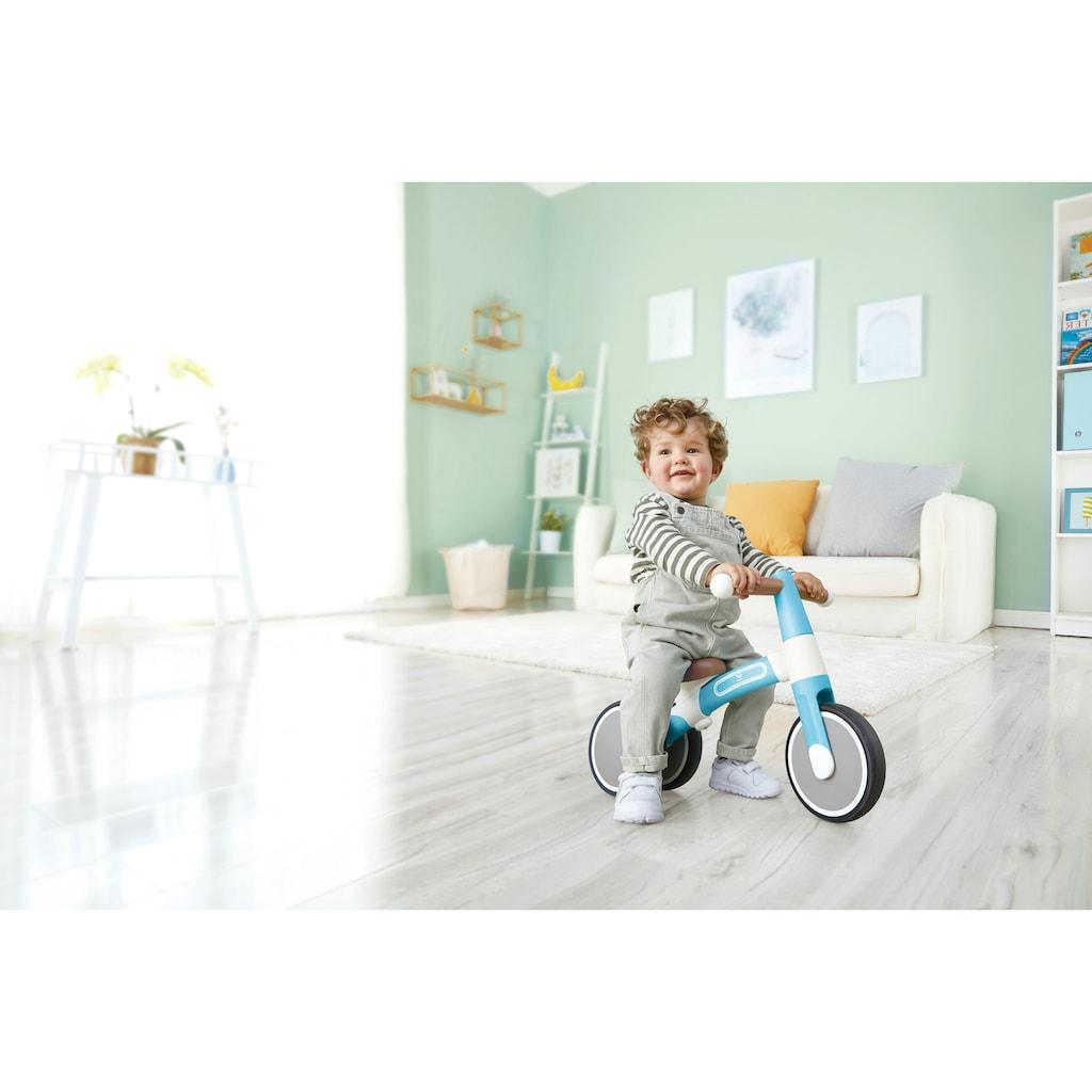 Hape Dreirad »Mein erstes Lauf-Dreirad, Helltürkis«, mit leichtem Aluminiumrahmen