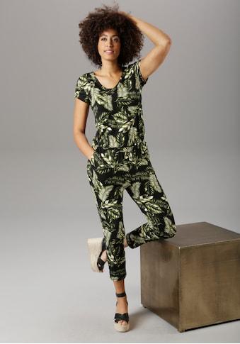 Aniston SELECTED Jumpsuit, mit Eingrifftaschen - NEUE KOLLEKTION kaufen