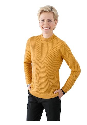 Classic Basics Pullover mit überzeugendem Strickmuster vorne kaufen