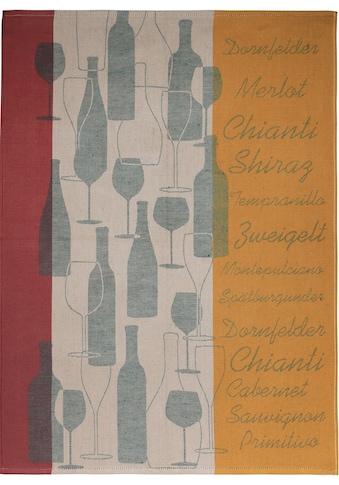 "stuco Geschirrtuch ""Vino  -  Jacquard"" (Set, 3 - tlg.) kaufen"