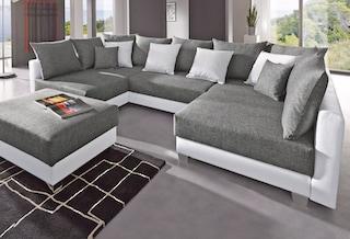 collection ab wohnlandschaft bequem auf raten kaufen. Black Bedroom Furniture Sets. Home Design Ideas