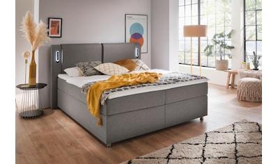 meise.möbel Boxspringbett, mit LED-Beleuchtung und Topper kaufen