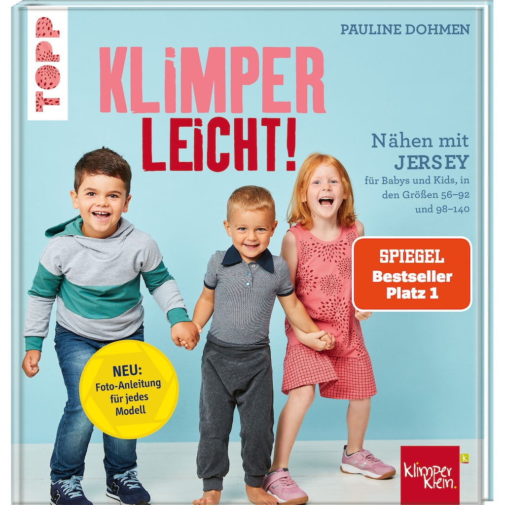 Buch »Nähen mit Jersey - KLIMPERLEICHT / Pauline Dohmen«