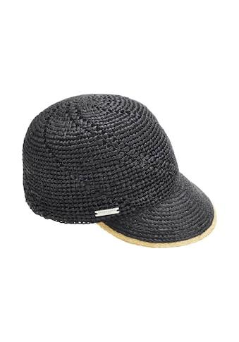 Seeberger Strohhut »Cap mit besonderem Webmuster 54754-0« kaufen