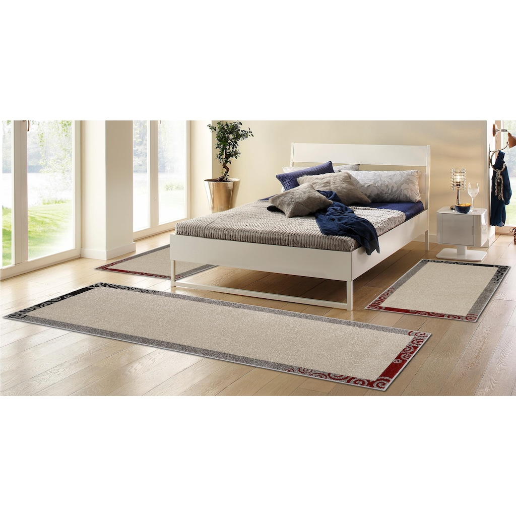 HANSE Home Bettumrandung »Salerno«, gewebt, Bordüre Design, klassisch