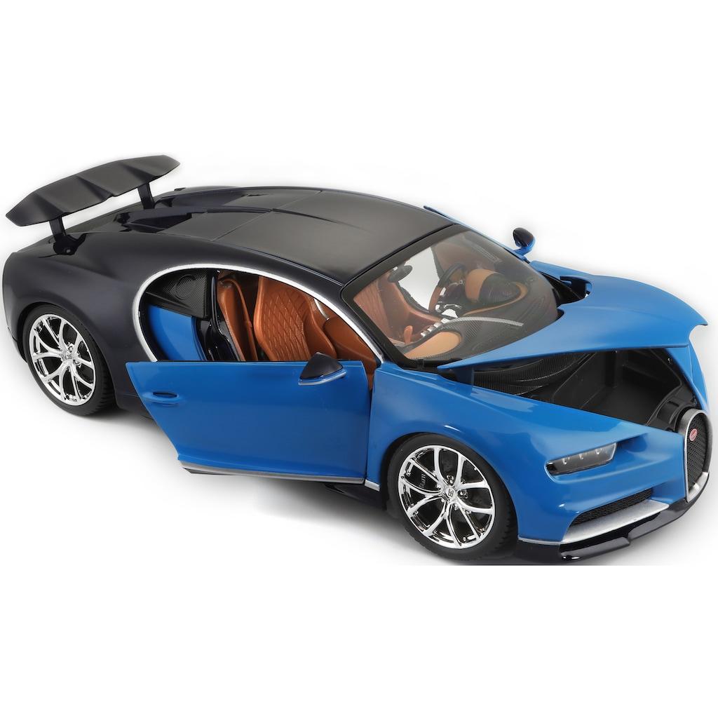 Bburago Sammlerauto »Bugatti Chiron«, 1:18