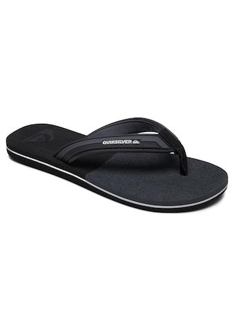 Quiksilver Sandale »Molokai Eclipsed Deluxe« kaufen
