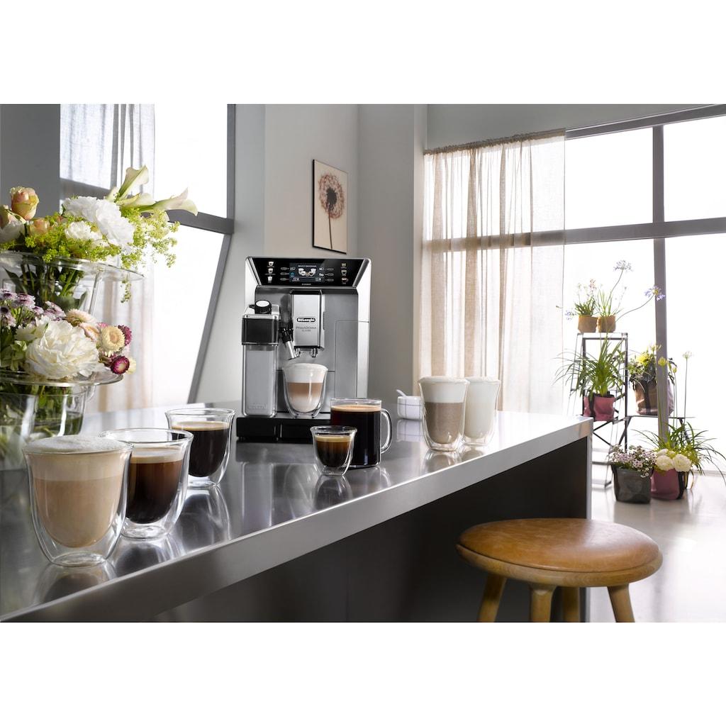 De'Longhi Kaffeevollautomat »PrimaDonna Class ECAM 550.85.MS, silber«