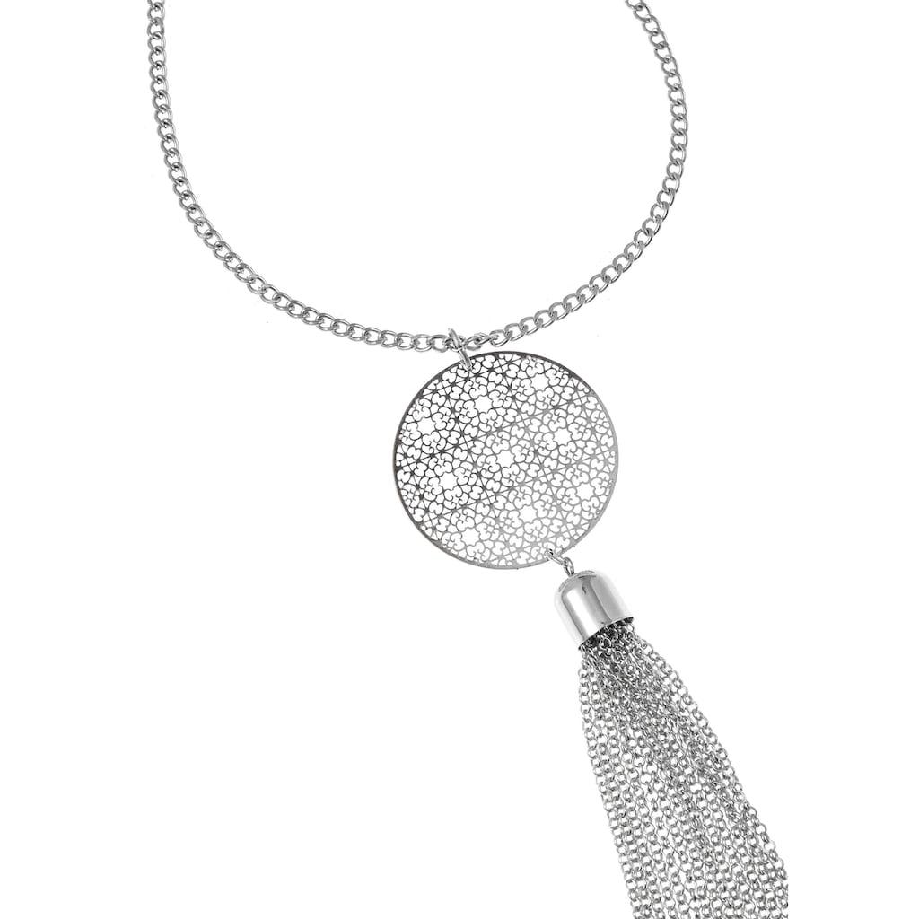 LASCANA Lange Kette, mit Ornament und Tassel