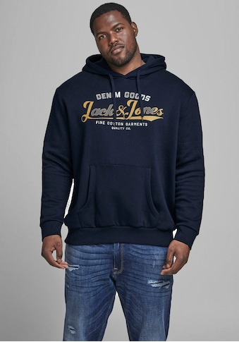 Jack & Jones Kapuzensweatshirt »LOGO SWEAT HOOD«, bis Größe 6XL kaufen
