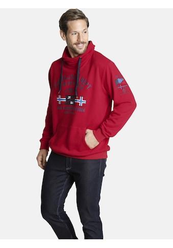 Jan Vanderstorm Sweatshirt »FAPI«, bequeme Passform, Comfort Fit kaufen