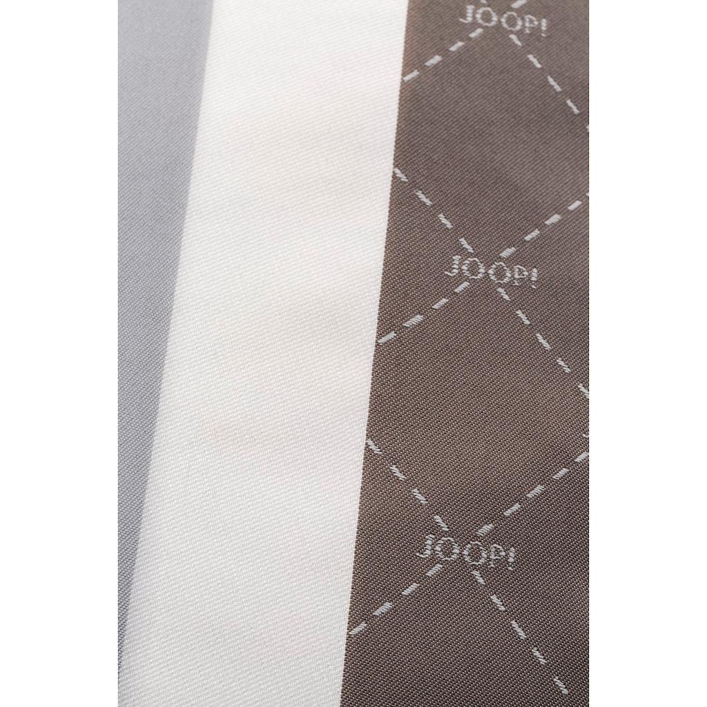 Joop! Kissenhülle »SIGNATURE«, Mit geometrischem JOOP! Rautenmuster