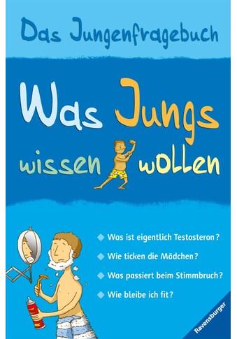 Buch »Was Jungs wissen wollen / Alex Frith, Adam Larkum, Wolfgang Hensel« kaufen