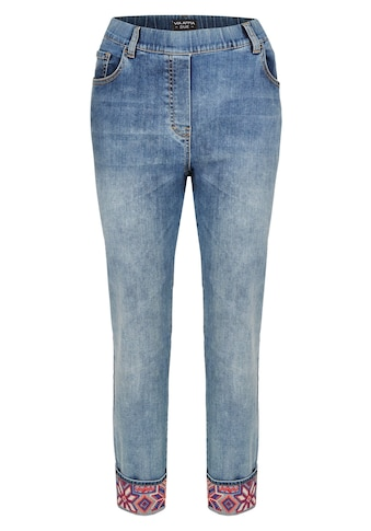 VIA APPIA DUE Moderne Jeans mit Stickereien kaufen