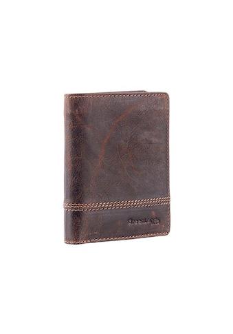 GreenLand Nature Geldbörse »Classic«, aus Leder mit schöner Ziernaht kaufen