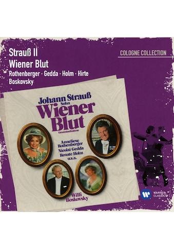 Musik-CD »Wiener Blut / Rothenberger,Anneliese/Gedda,Nicolai/Boskovsky,W.« kaufen