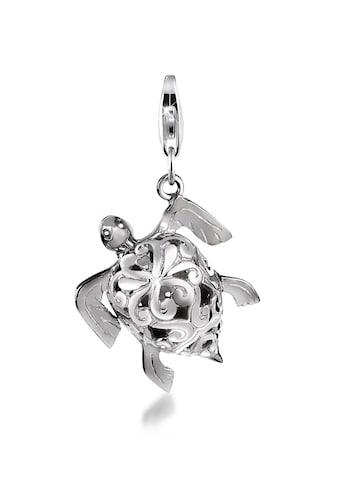 Nenalina Charm-Einhänger »Schildkröte Meer Strand Ornament Tier 925 Silber« kaufen