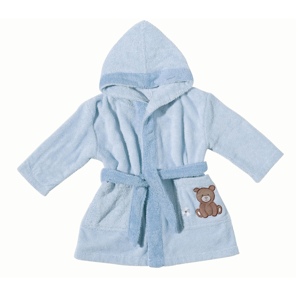 Egeria Babybademantel »Teddy Bear«, (1 St.), mit Stickerei