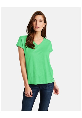 GERRY WEBER T - Shirt 1/2 Arm »Shirt aus Leinen« kaufen