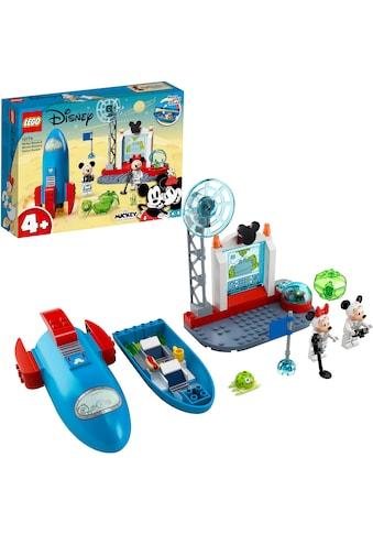 LEGO® Konstruktionsspielsteine »Mickys und Minnies Weltraumrakete (10774), LEGO®... kaufen