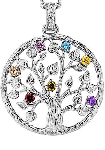 Julie Julsen Kettenanhänger »Poems of Life COLLECTION, Lebensbaum Crystal Tree, JJPE0248.1« kaufen