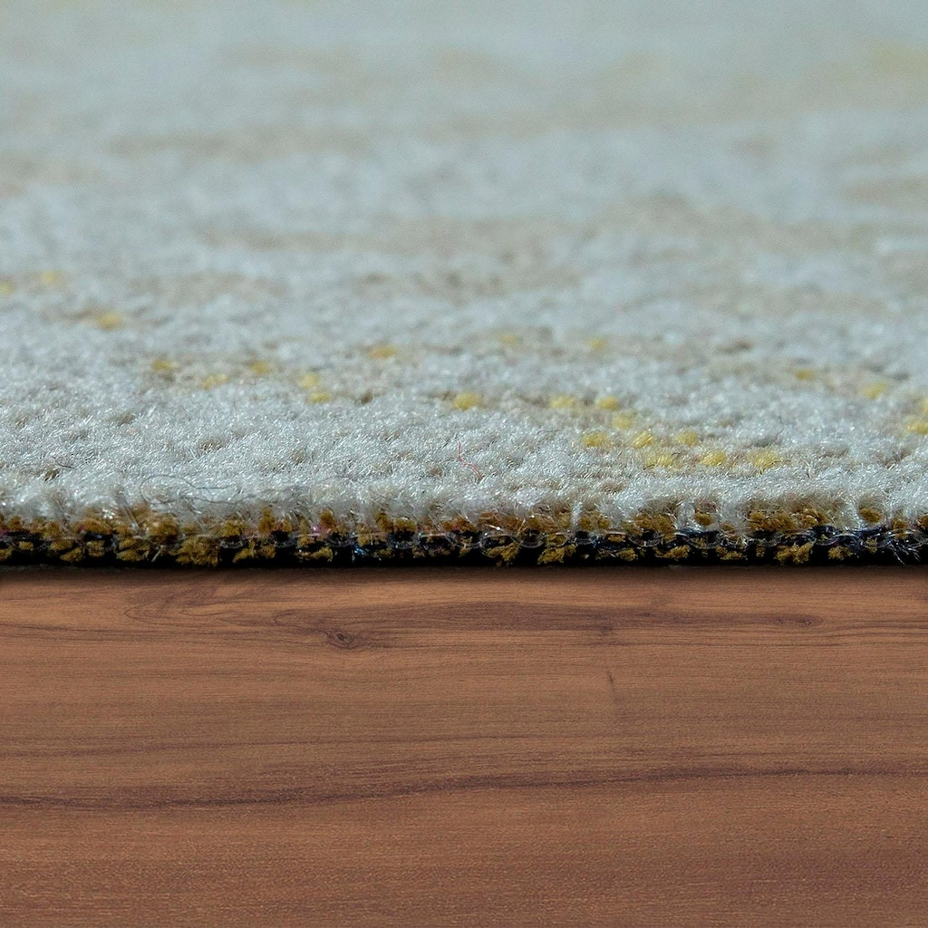 Paco Home Teppich »Artigo 415«, rechteckig, 4 mm Höhe, Ornamente, Vintage Design, In- und Outdoor geeignet, Wohnzimmer