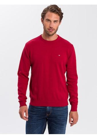 Cross Jeans® Strickpullover »34156«, Weiche Feinstrickqualität kaufen