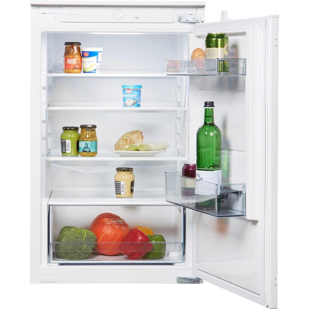 GORENJE Einbaukühlschrank, 87,5 cm hoch, 54 cm breit