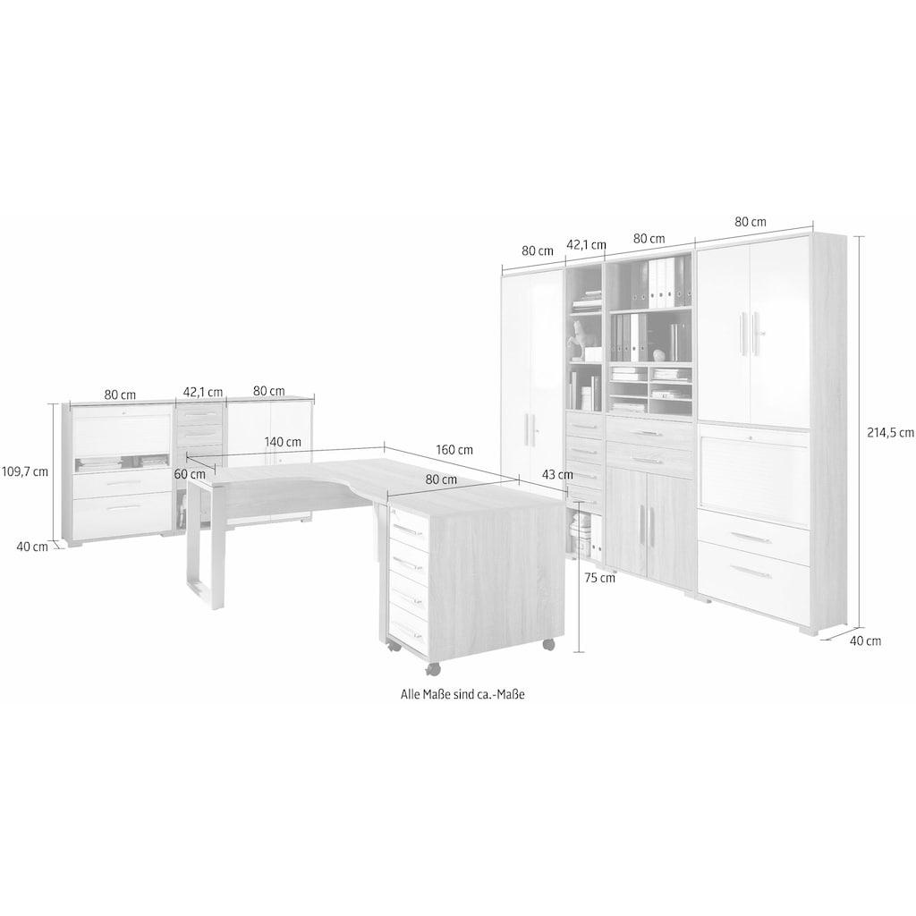 Maja Möbel Büro-Set »1210 SYSTEM« (Set, 9-tlg)