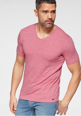 OLYMP T-Shirt »Level Five body fit«, mit hohem Leinenanteil kaufen