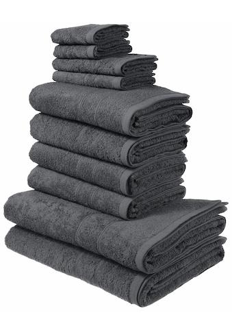 Handtuch Set, »Inga«, my home (Set) kaufen