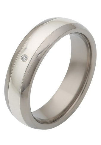 Firetti Trauring »glanz, Diamantschnitt, bicolor, 6,0 mm breit«, Made in Germany,... kaufen