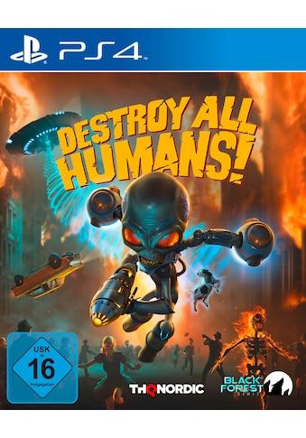Destroy All Humans! PlayStation 4 kaufen