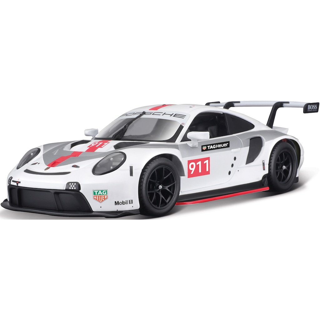 Bburago Sammlerauto »Race Porsche 911 RSR GT ´20«, 1:24