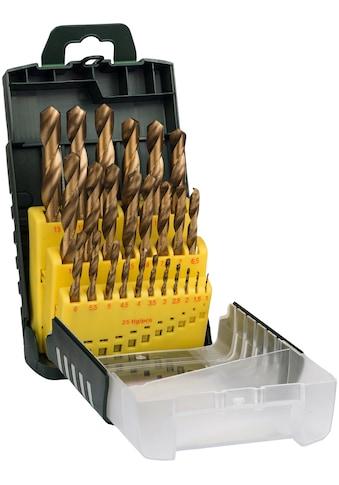 BOSCH Bohrersatz, (Set, 25 tlg.), HSS-TiN-Metallbohrer kaufen