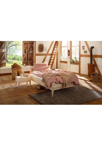 Premium collection by Home affaire Massivholzbett »MINIMUS«, vegan aus Zirbenholz kaufen