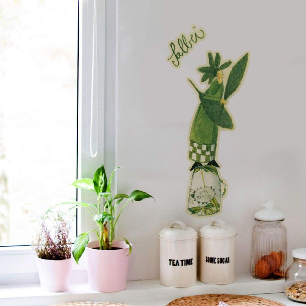 Wall-Art Wandtattoo »Kräuter Küche Salbei Grün«
